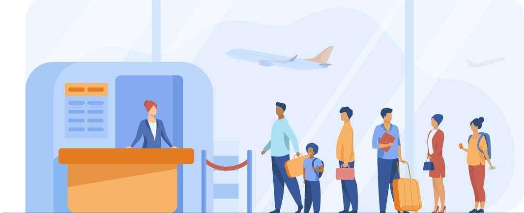 Путешествие самолетом с английским